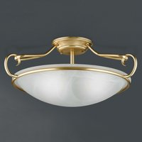 Como decorative ceiling light  matt brass