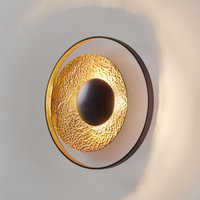 Satellite wall light in gold brown    40 cm