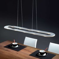 Elongated LED hanging light Sima