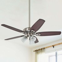 Hunter Builder Plus ceiling fan  reversible blades