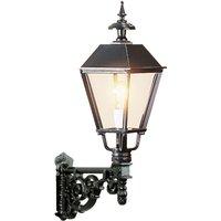 Elegant outdoor wall light M43  black