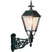Outdoor wall light Egmont  black