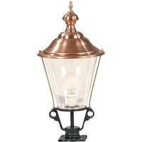 Path light K3b with copper top  black