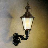 Outdoor wall light Hoorn  uplight  black