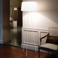 Kundalini   floor lamp Tripod white   frame grey