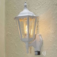 Firenze outdoor wall lamp  sensor  standing  white