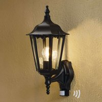 Firenze outdoor wall lamp  sensor  standing  black