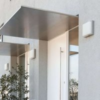 Quadro outdoor wall light in stainless steel