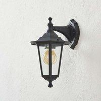 Outdoor wall lamp Peking black hanging
