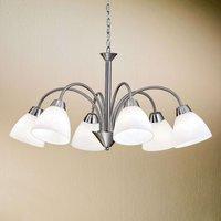 Kinga Hanging Light Charming Six Bulbs   Nickel