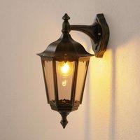 Fabio Outside Wall Light Lantern Shaped Hanging