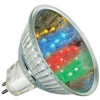 GU5 3 MR16 1 W LED reflector multi colour
