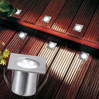 LED ground spotlight PROFI MINI basic set  square