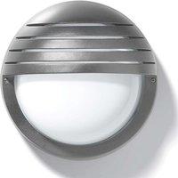 Outdoor wall lamp Eko 21 Grill silver