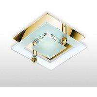 Elegant high voltage downlight VET  gold
