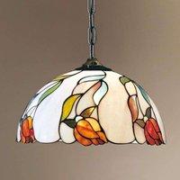 ISABELLA hanging light  Tiffany style chain 40