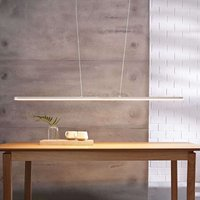 Marga   white LED pendant light  variable length