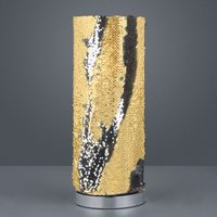 Lindby Jacira table lamp with sequin pattern
