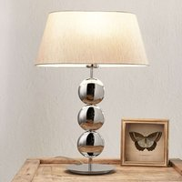 Villeroy   Boch Sofia   table lamp  silver base