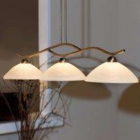 3 bulb Capri hanging light