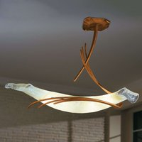 Roma designer ceiling light 60 copper red