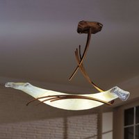 ROMA designer ceiling light 60 antique brown