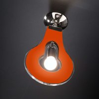 Original ceiling light Flat orange