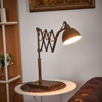 Striking table lamp Norwin