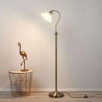 Bjane floor lamp  antique brass