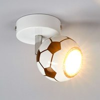 Play LED wall spotlight in a football design