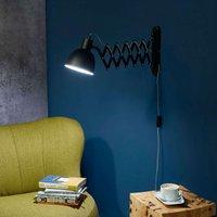 Talaro wall light with concertina arm L08