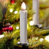 Shine LED tree candle  ivory  wireless  set of 5