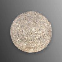 Spherical Thunder LED table lamp