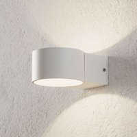 LED wall lamp Lacapo shining upwards and downwards