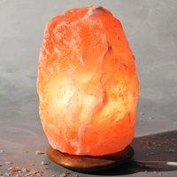 ROCK salt crystal lamp 4 6 kg  approx  23 cm high