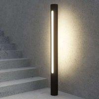 Dark grey LED path lamp Tomas