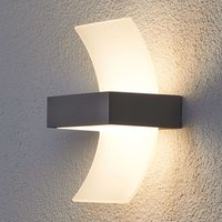 Skadi  Curved LED Exterior Wall Lamp