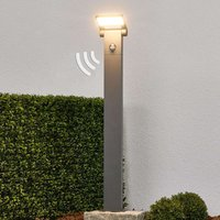 Bollard light Marius with motion detector  80 cm
