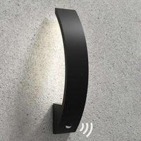 Floyd   LED sensor outdoor wall light  curved