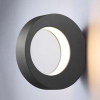 Ring shaped LED outdoor wall light Larika