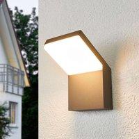 Downlighting LED outdoor wall lamp Yolena