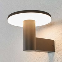 LED outdoor wall lamp Olesia with downlight