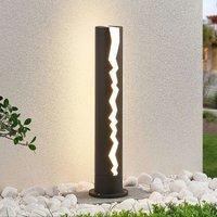 Effective LED bollard lamp Keke  dark grey