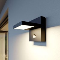 Silvan LED outdoor wall lamp  dark grey  sensor