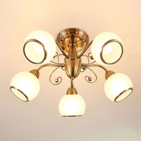 Fantastic ceiling light Corentin  antique brass