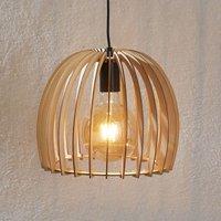 Bela wooden hanging light    30 cm