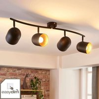 Four bulb LED ceiling spotlight Morik  dimmable