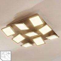 Stephanie LED ceiling lamp  dimmable  nine bulb