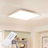Lysander square LED ceiling light w  dimmer