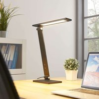 Salome   dimmable LED desk lamp  black